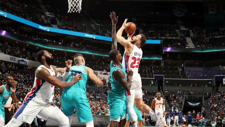 Detroit Pistons 86-98 Charlotte Hornets
