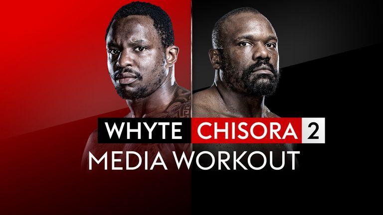 Dillian Whyte v Derek Chisora - Media Workout