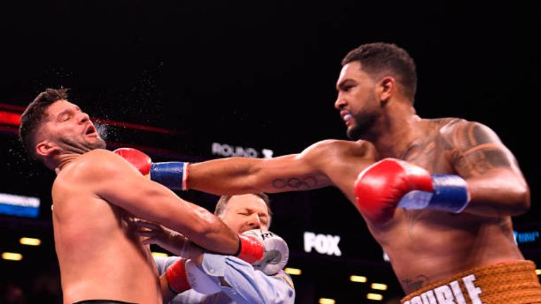 Dominic Breazeale will challenge Wilder for the WBC belt in New York