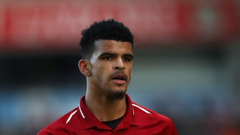 Dominic Solanke has not made a single appearance for Liverpool this season.