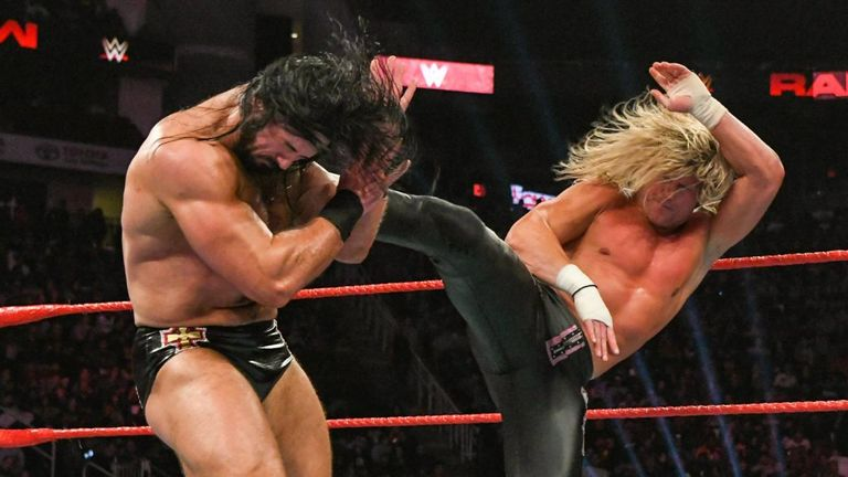 Former friends Drew McIntyre and Dolph Ziggler went head to head