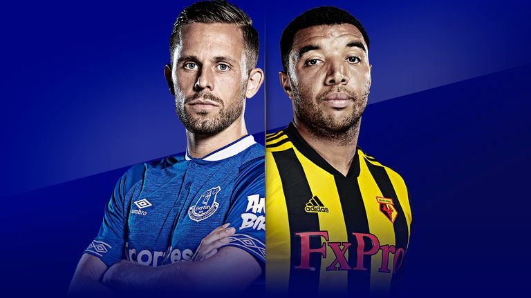 Everton vs Watford is live on Sky Sports from 7pm on Monday
