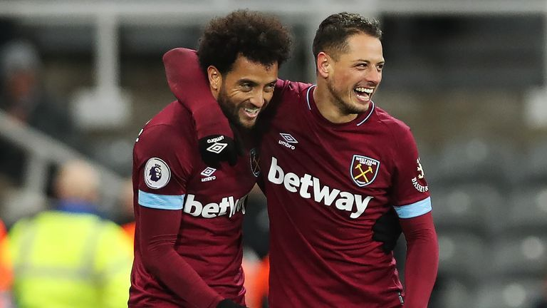 Pellegrini has urged Felipe Anderson to maintain his fine form