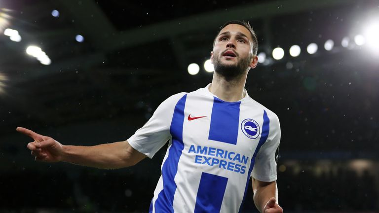 Florin Andone faces a fitness test ahead of Brighton's clash with Southampton
