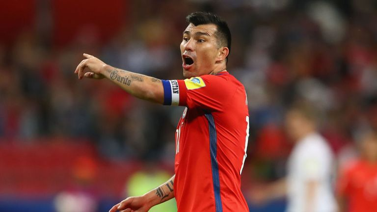 Medel has made 114 appearances for Chile