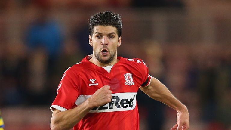 Middlesbrough are waiting on George Friend