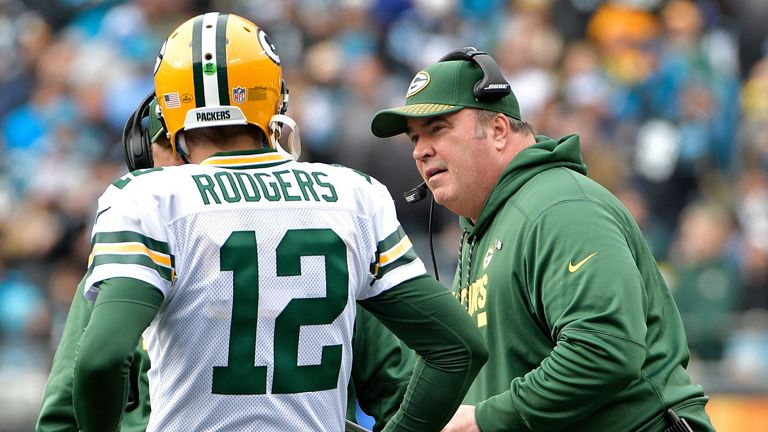 The Packers fired Mike McCarthy in December