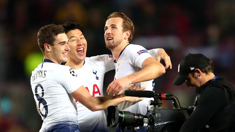 Tottenham drew with Barcelona on Tuesday night