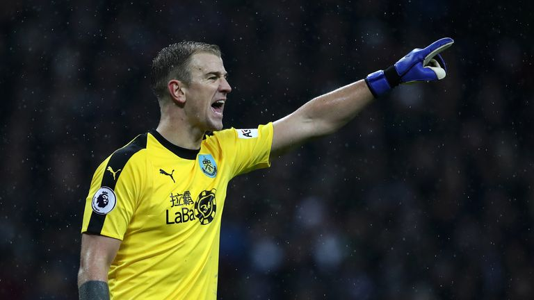 Burnley's Joe Hart features in this weekend's Saves of the Round