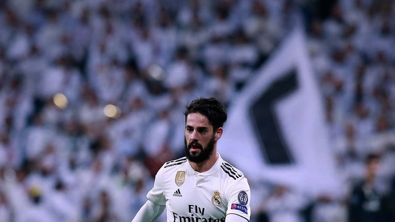 Isco did not board the Real Madrid team bus