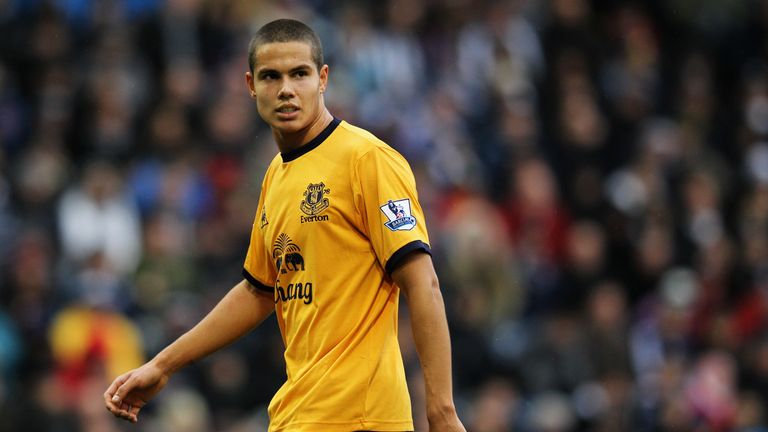 Jack Rodwell started out early with Everton