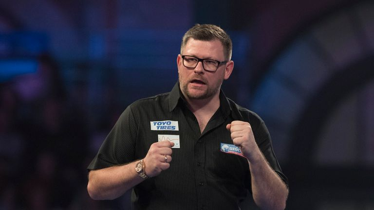 James Wade picked up successive major titles at the European Championship and World Series Finals