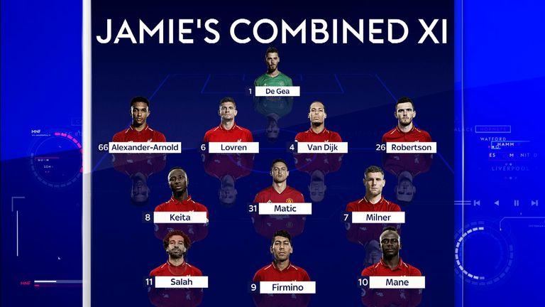 Jamie Carragher's combined XI