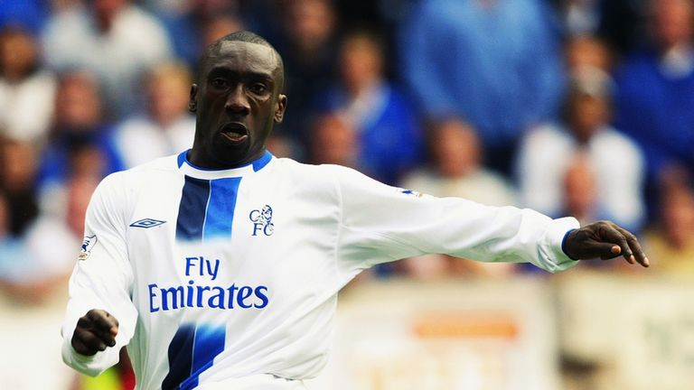 Hasselbaink scored 81 goals in 169 appearances for Chelsea