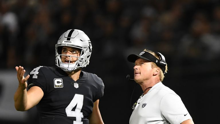 Head coach Jon Gruden has plenty of draft capital to work with this season