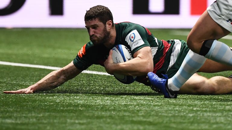 Leicester did not fade away in the fixture and scored four tries - Jonah Holmes grabbing one