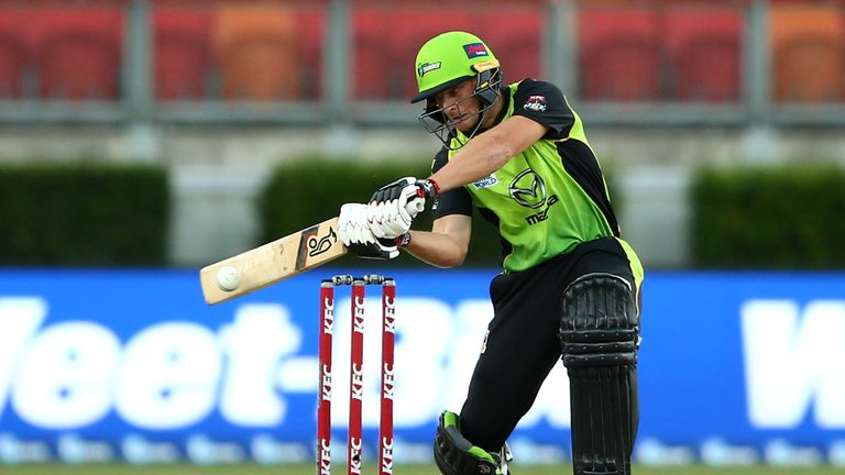 Jos Buttler struck three sixes and six fours for Sydney Thunder on Christmas Eve