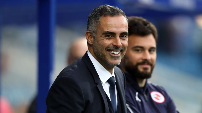 Jose Gomes earned a point in his second game as Reading manager