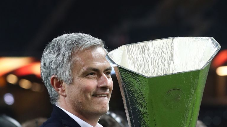 Jose Mourinho won the Europa League in 2017