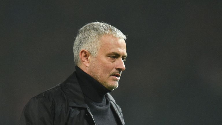 Jose Mourinho was sacked by Manchester United on Tuesday