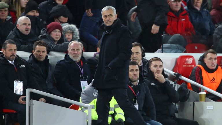 Mourinho claims Liverpool are the better team at present after the 3-1 loss