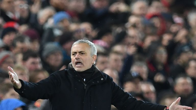 Mourinho lost his job at Manchester United in December