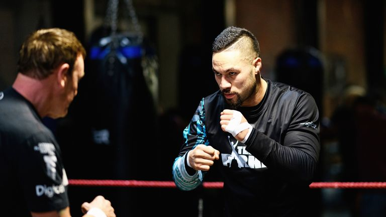 The former world champion has been developing his power