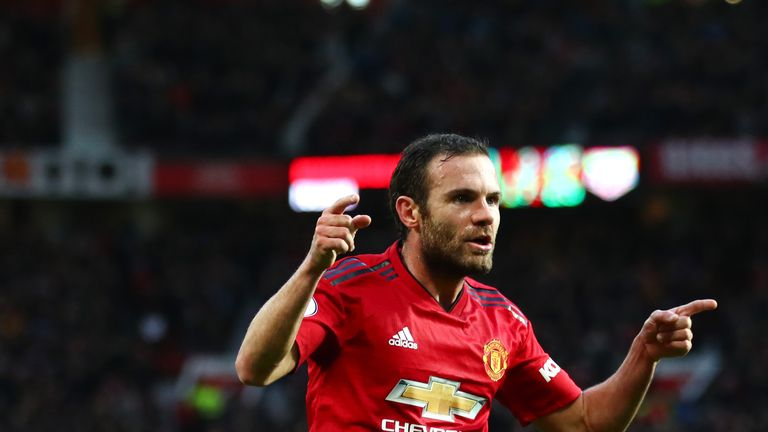 Juan Mata is out of contract at Manchester United in the summer