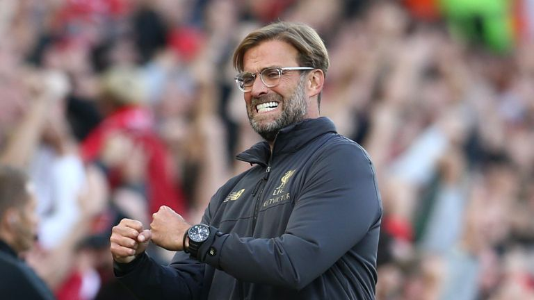 Jurgen Klopp's side are enjoying their best ever league start