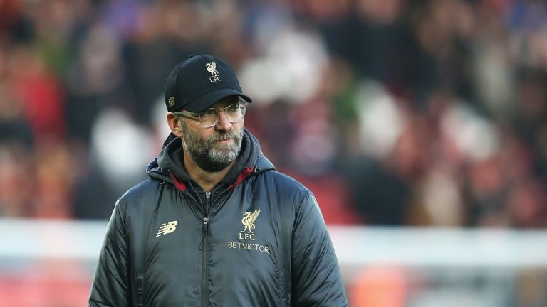 Jurgen Klopp's side moved six points clear at the top of the Premier League