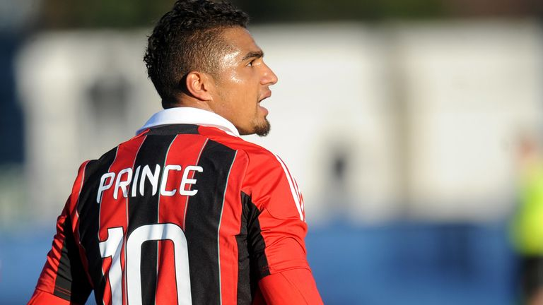 Kevin-Prince Boateng was racially abused against Pro Patria in 2013