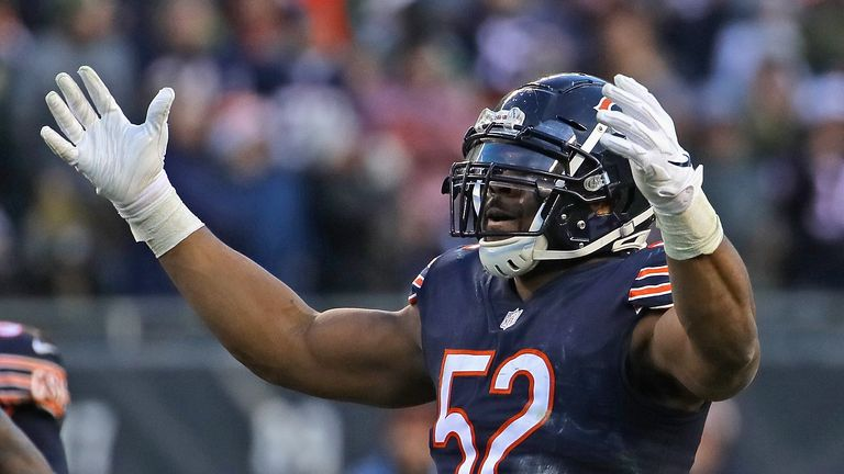 Khalil Mack has made his living taking down the quarterback