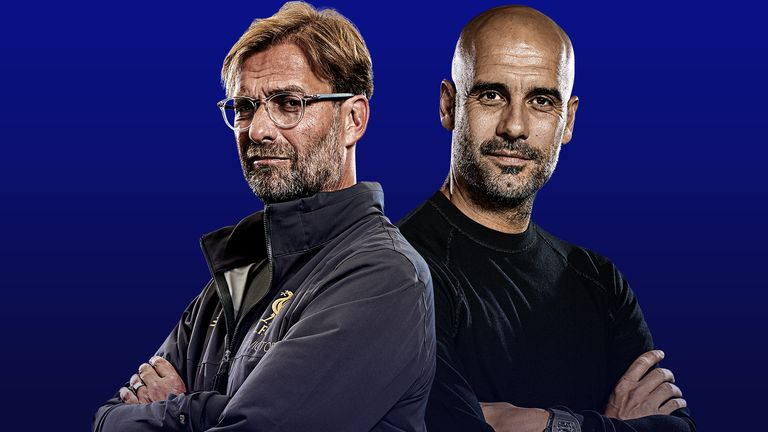 The half-term reports are in for Jurgen Klopp and Pep Guardiola
