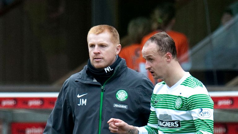 Neil Lennon was Leigh Griffiths' manager at Celtic