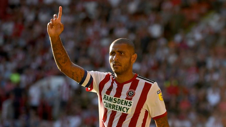 Sheffield United striker Leon Clarke may have to settle again for a place on the bench