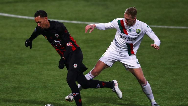 Lex Immers' double helped ADO Den Haag jump up to 10th