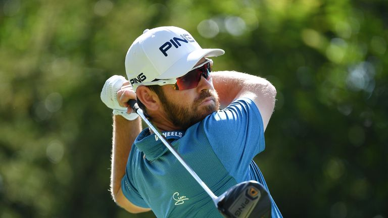 Louis Oosthuizen goes into the weekend two shots behind