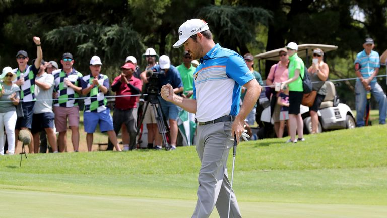 Oosthuizen joined an elite list of players to have won both The Open and South African Open