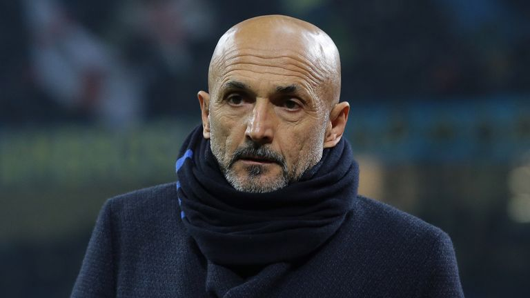 Luciano Spalletti says playing behind closed doors is a price worth paying if it helps eradicate hatred in football