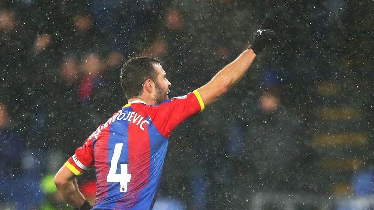 Milivojevic celebrates his stunning winner