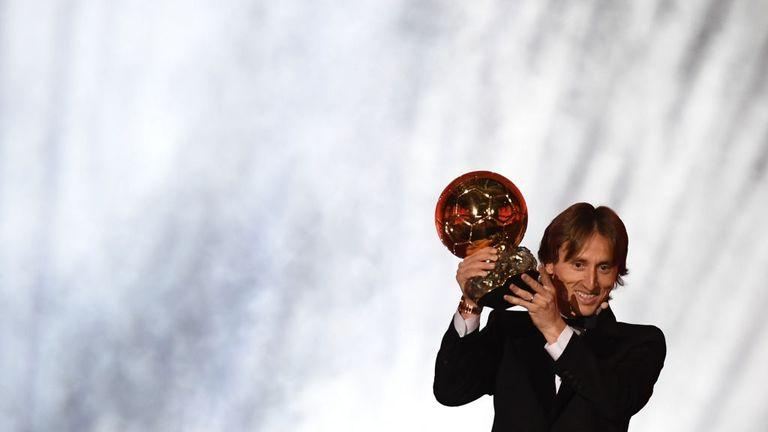 Luka Modric has won the 2018 men's Ballon d'Or award