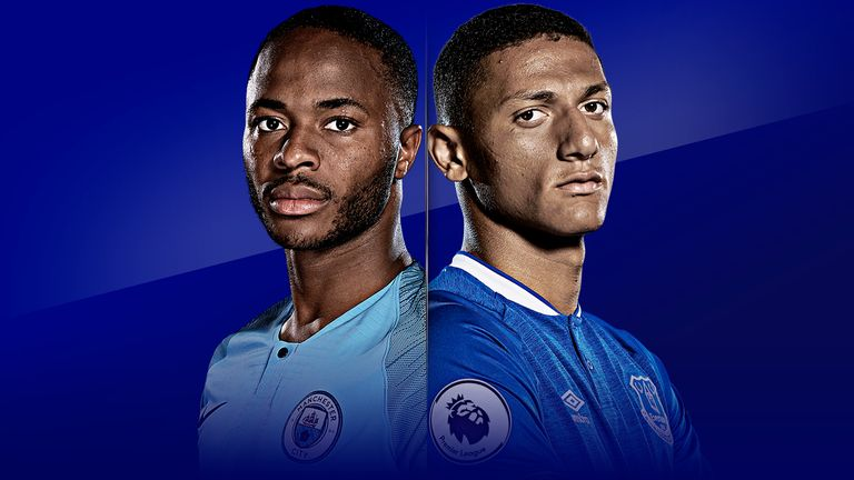 Manchester City v Everton is live on Sky Sports from 11.30am on Saturday