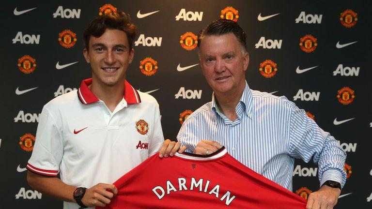 Louis van Gaal signed Matteo Darmian from Torino in 2015