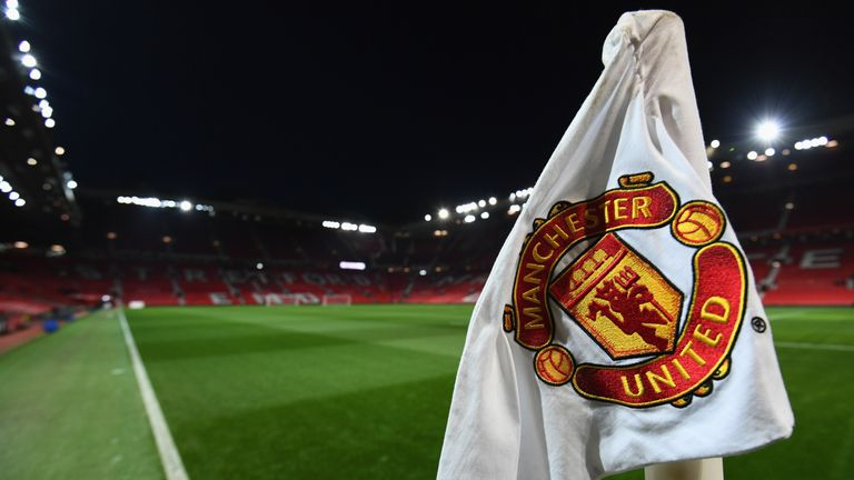 during the Emirates FA Cup Third Round match between Manchester United and Derby County at Old Trafford on January 5, 2018 in Manchester, England.