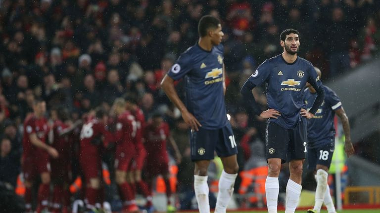 Liverpool proved too strong for Manchester United at Anfield on Super Sunday