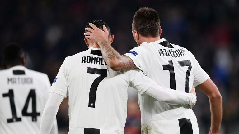Ronaldo, Mandzukic, Juventus