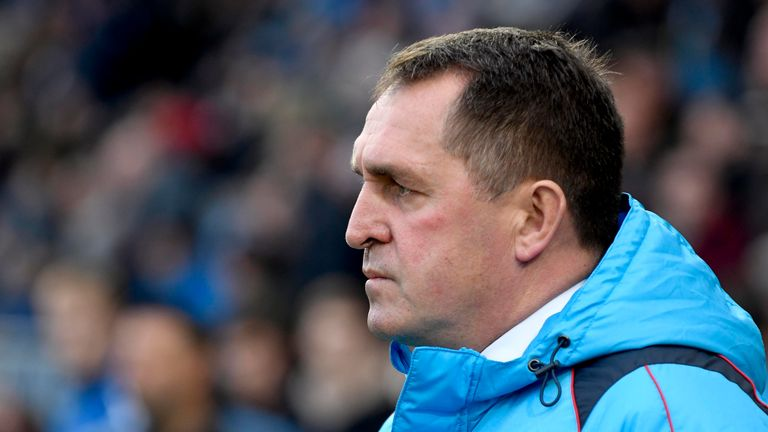 martin allen sacked by chesterfield football news sky sports