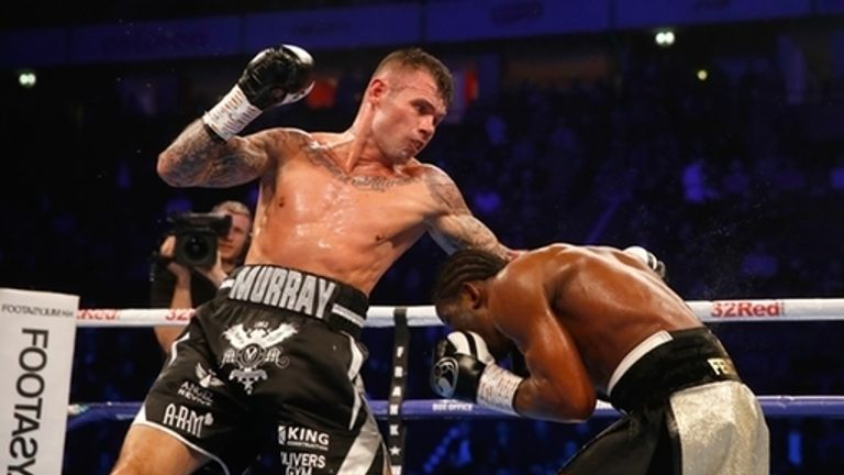 Murray lost on points to N'Dam on the undercard