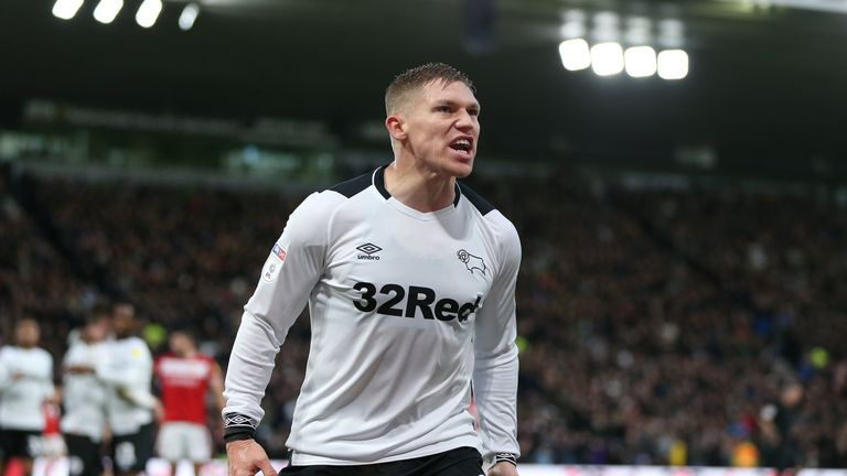 Martyn Waghorn scored the equaliser for Derby