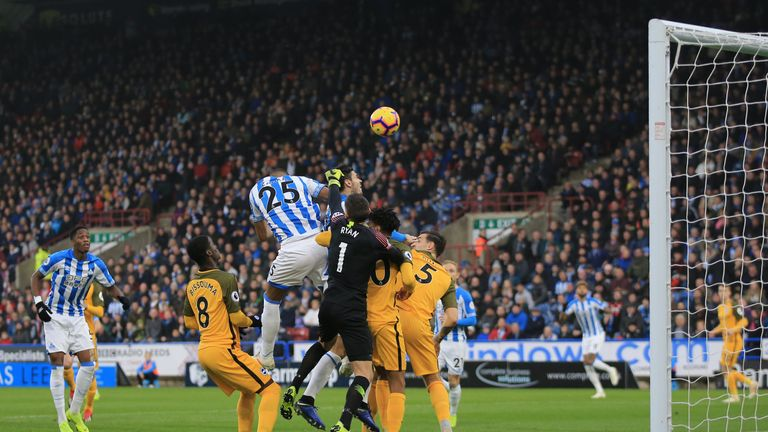 Mathias Jorgensen may be crucial at both ends for Huddersfield